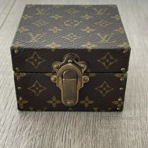 Louis Vuitton Ecrin Declaration Mini Trunk Jewelry